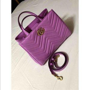 1e46292eb98c Gucci Bags   Candy Pink Matelasse Gg Marmont Handle Bag   Poshmark